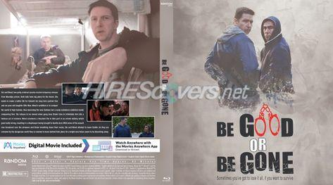 DVD Cover Custom DVD covers BluRay label movie art - Blu-ray CUSTOM Covers - B / Be Good Or Be Gone (2020)