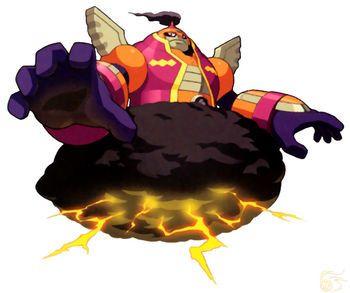 Cloudman Exe Mega Man Anime Undead Warrior