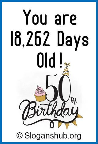 good and funny 50 year old birthday jokes/poems? | Yahoo Answers