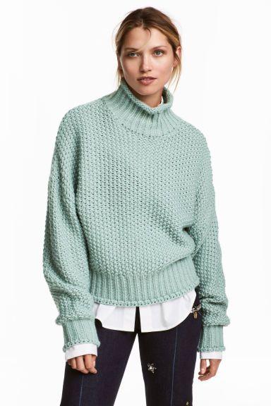189cf4e3bf8 Chunky-knit jumper | WORK WORK WORK ♥️ | Chunky knit jumper ...