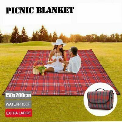 Picnic Blanket Mat Rug Folding Camping