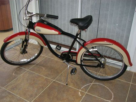 harley davidson cruiser from gt/dyno bicycles. very rare! | cool