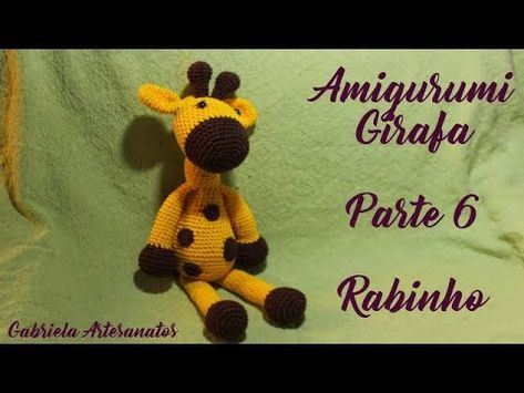 Cópia de Girafa Amigurumi Rosa Fofa in 2020   355x473