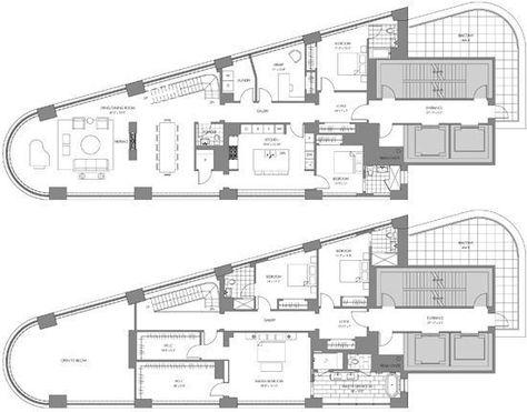 A Duplex Penthouse Designed With Scandinavian Aesthetics - A duplex penthouse designed with scandinavian aesthetics industrial elements includes floor plans