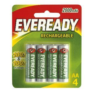 Eveready Rechargeable Batteries Rechargeable Batteries Recharge Household Batteries