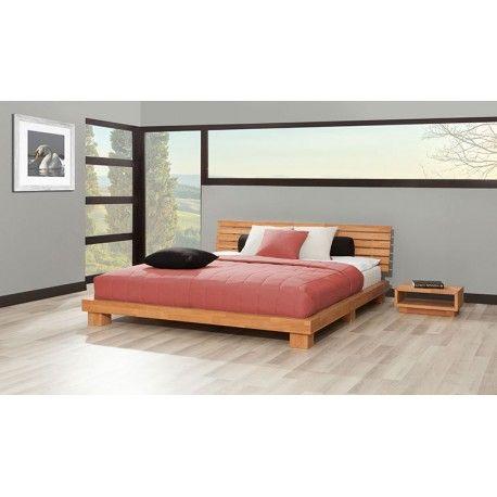Lit Goban Naturel Avec 1 Chevet Furniture Outdoor Furniture Home
