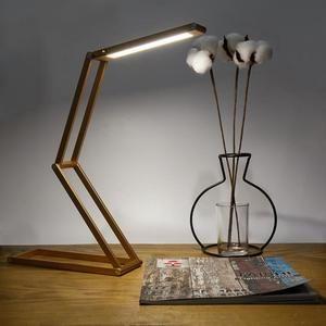 De Led 20cm Bureau Aluminium Pliage 3w Rechargeable Lampe Tactile JcK3TlF1