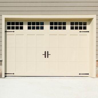 Cre8tive Hardware 6 Pack Black Plastic Garage Door Decorative Magnetic Hinge And Handle Set Lowes Com In 2020 Garage Doors Magnetic Garage Door Hardware Garage Door Types
