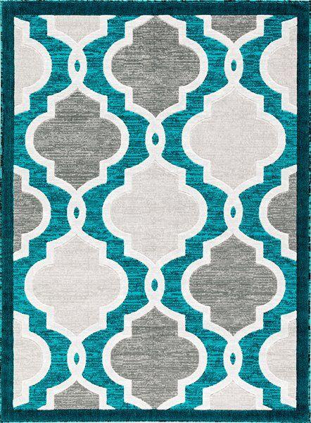 Turquoise Adele Area Rug