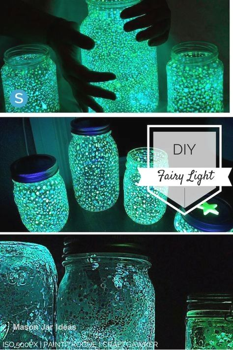 New Mason Jar Crafts In 2020 Mason Jar Fairy Lights Mason Jar Diy Wine Bottle Diy Crafts