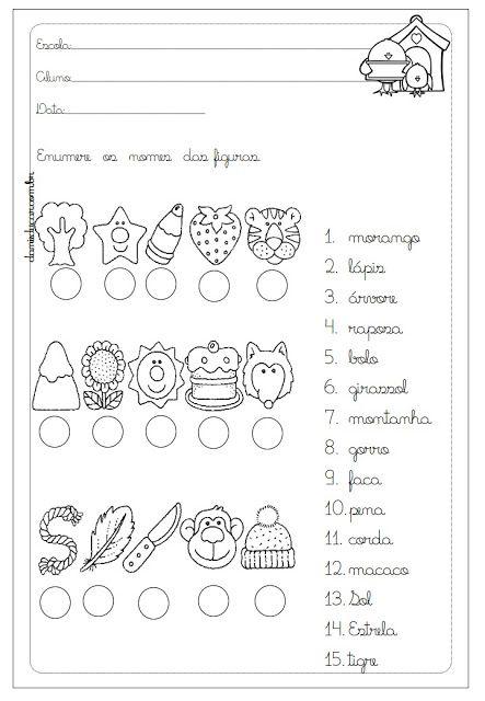 Pin De Raquel Ferreira Em Material De Alfabetizacao Em 2020 Com
