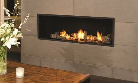 Gas fireplace and Inte…
