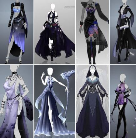29 Ideas Drawing Clothes Fantasy Fashion Design Drawings Art Clothes Dress Sketches