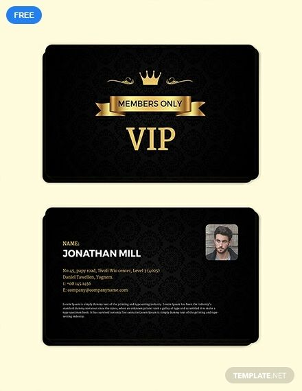 Free Fan Club Membership Card Template Word Doc Psd Apple Mac Pages Illustrator Publisher Membership Card Create Business Cards Card Template