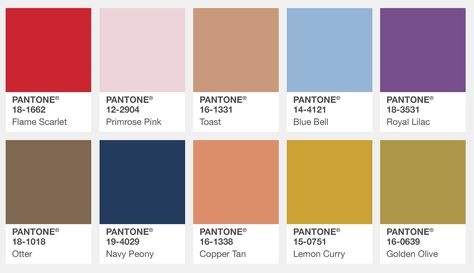 Pantone's Fall 2017 Color Trends: The London Edition London's Fall 2017 Color Trends from Pantone . It's a big deal guys…for the first time ever Pantone, the leading authority on color trends, has released a London Fashion Color Report in addition to…Read more ›