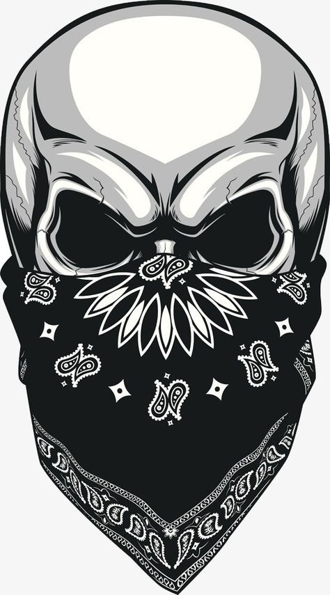 Painted Masked Skull Skull Hand Painted Skull Cartoon Skull Png And Vector With Transparent Background For Free Download Skulls Drawing Skull Painting Skull Artwork