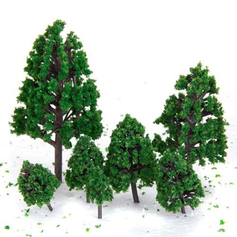 1//50 Model Trees Train Scenery Architecture Trees Model Scenery O Scale