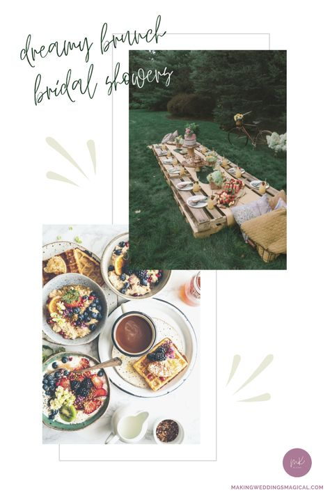 What's not to love about brunch? I mean really. You can get almost any variation of breakfast food and/or lunch food that you might be craving. It's also an eggs-cellent excuse to enjoy extended time with good friends. Click the picture to check out some bridal shower brunch inspiration! #bridalshower #wedding #bridalshowerideas