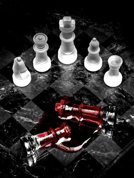 (notitle) - Chess and Cards - Schach Damier, Chess Pieces, Red Queen, Red Aesthetic, The Villain, Op Art, Writing Inspiration, Mafia, Assassin