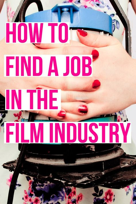 An article explaining how to find work in the film industry (and free guides on where/how to look for work). Click through to read the post and download your free guides Filmmaker Filmmaking Article