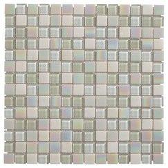 Mosaique Verre Parmia Blanc Brico Depot Flooring Tiles Tile
