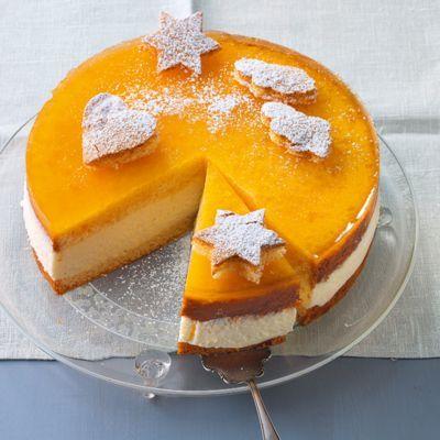 Joghurt-Torte mit Maracuja