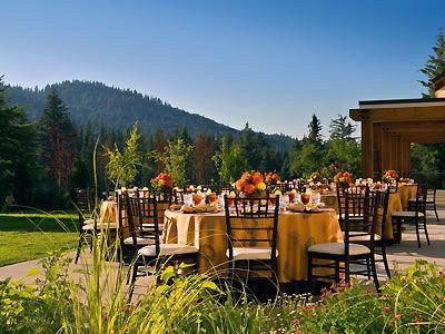 Tenaya Lodge at Yosemite Wedding Locations Mountain Reception ...