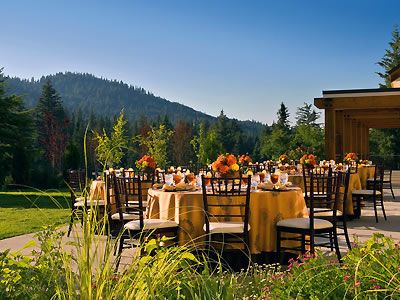 An Outdoor Wedding At The Tenaya Lodge Yosemite Is A Perfect Venue For