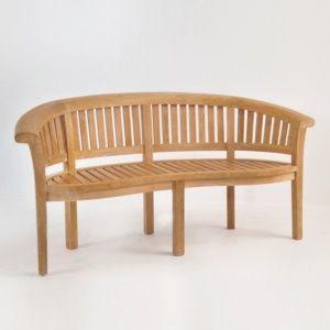 Marvelous Monet Teak Outdoor Bench 0 Ponder House Garden Furniture Evergreenethics Interior Chair Design Evergreenethicsorg