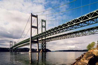 Tacoma Narrows Bridge; Tacoma, Washington