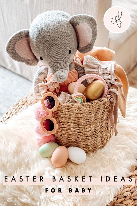 Baby Girl\u2019s Easter Outfit Girl Toddler Easter Onesie My 1st Easter Shirt Custom Baby\u2019s First Easter Bodysuit Easter Basket Stuffers