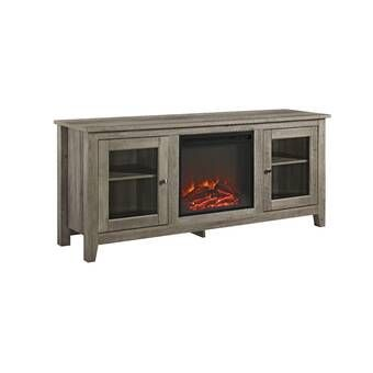 Leisa Tv Stand Fireplace For Tvs Up To 55 Inches With Electric