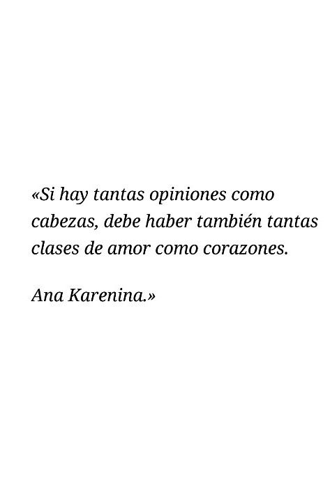 Frase Ana Karenina Citas De Poesía Ana Karenina Y