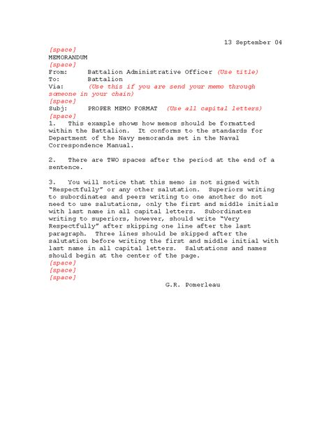 Proper Business Memo Format  Download This Professional Business