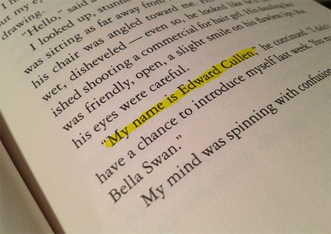 How all it Started... I LOVED how they flipped through the pages of the books at the end of BD2. Beautiful. Especially with Christina Perri singing in the background. :)