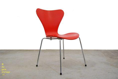 Vlinder Bureaustoel Arne Jacobsen.Pin Op Dining Chairs Stoelen