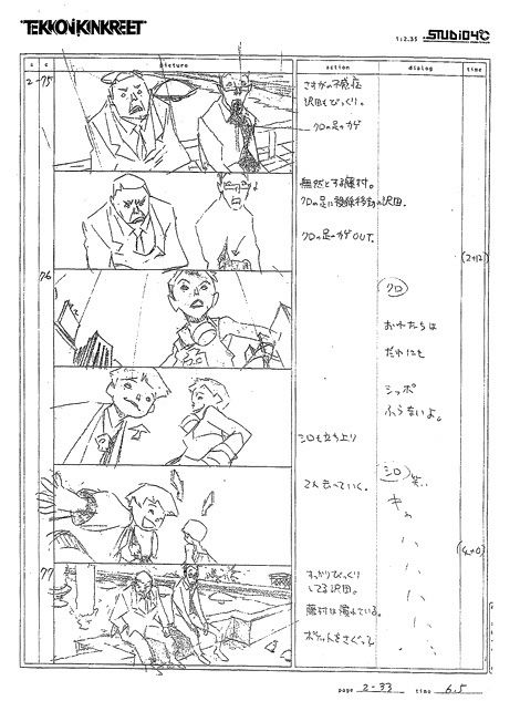 Image result for monster anime storyboard story-telling - anime storyboard