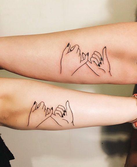 70 Heart-Warming Sister Tattoo Ideas That Show Major Sibling Love #sistertattoos #sistertattooideas #tattoosforwomen #tattoos - Millions Grace