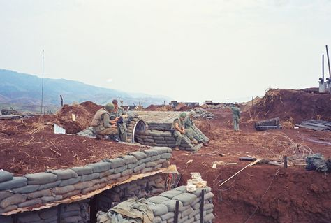 Firebase in northern I Corps - Vietnam
