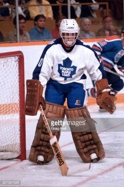 Don Edwards (1985-86) | Hockey goalie, Toronto maple leafs, Toronto maple