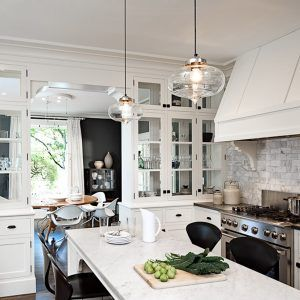 Clear Glass Pendant Lights For Kitchen Inspirations Kitchen