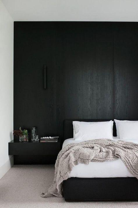 Schwarz Weiss Dekor 60 Ideen Inspirieren Umgebungen Schlafzimmer