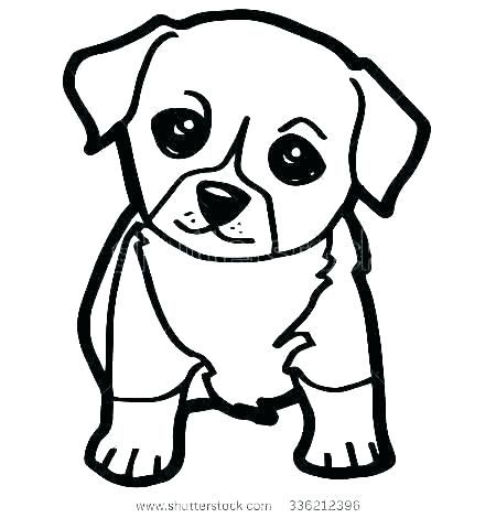Coloring Page Dog Dheaguide Di 2020