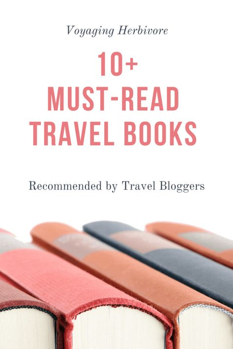 18 of the best travel books that travel bloggers recommend. From coffee table beauties to guidebooks and travel novels, you'll want to read them all!