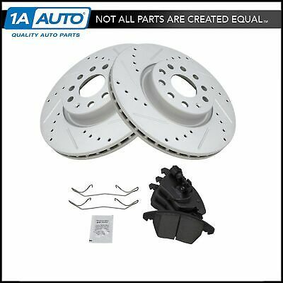 Ceramic Pads For Lexus GS300 GS400 GS430 IS300 Front And Rear Brake Disc Rotors