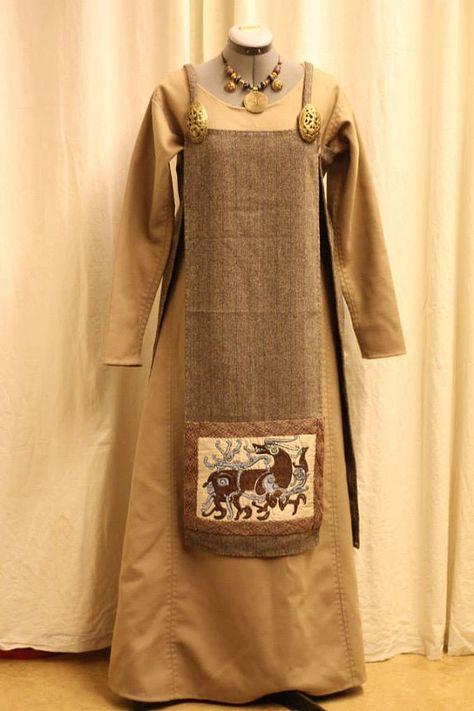 Viking Apron Kleid
