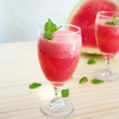 Watermelon Mint Juice | Recipe