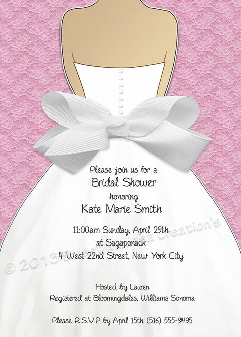 DIY Printable Bridal Shower Invitation by SweetMelissaCreation, $13.00. So cute!!!