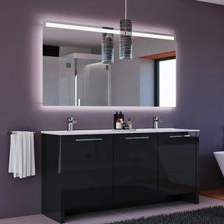48 Inch Bath Vanity, Shop The Gray Barn Finley 64 Inch Black Vanity With Marble Countertop Free Shipping Today Ove Double Vanity Bathroom Vanity Set Double Sink Bathroom Vanity