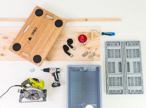 Diy Fabriquer Une Multi Caisse à Outils Retrouvez Toute